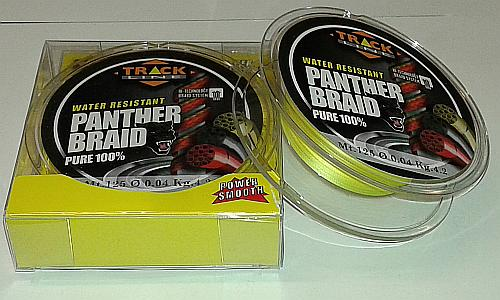 Panther Braid Yellow 125mt. Diametro 0,04