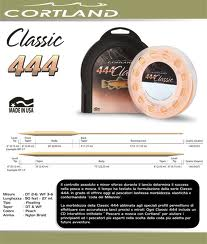 Coda 444 Float Double Taper Peach Dt2f