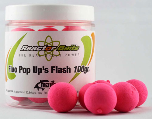 Reactor Bait Pop-up Fluo Pink 15mm 100gr.