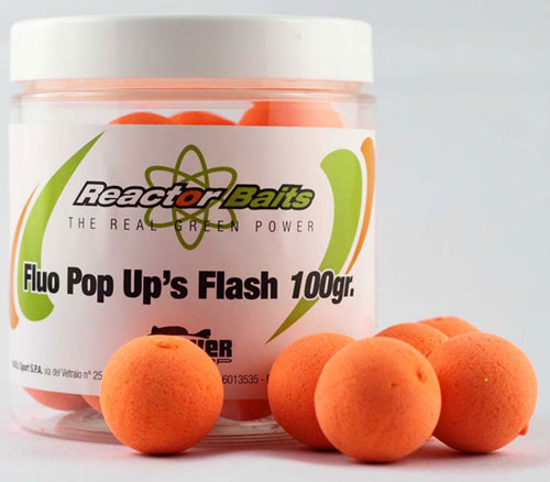 Reactor Bait Pop-up Fluo Orange 15mm 100gr.