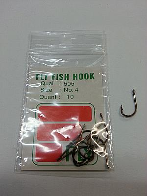 Ami Fly Fish Hook Serie 505 Size 4 Pz.100