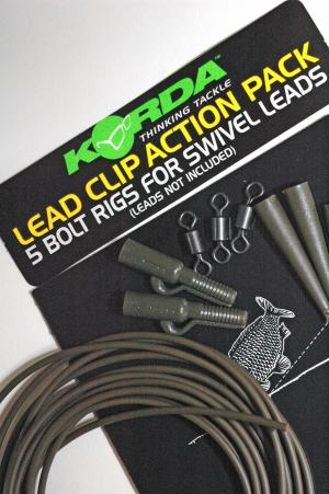Korda Lead Clip Action Pack Colore Terra Cott