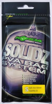 Korda Solidz Pva Bags 25 Pz. Small 55x100mm
