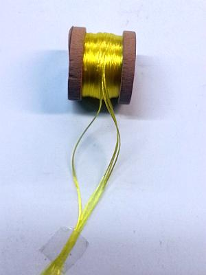 Seta Floss 4 Strand Yellow 6yds