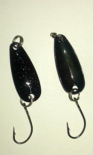Sky-fly Spoon Black Glitter Gr.2,6