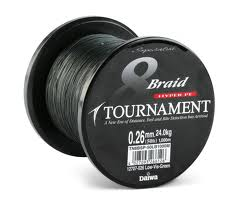 Daiwa 8 Braid Tourna. 0,35 1000 Metri 85lb